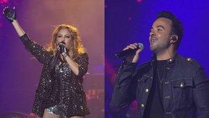 'La voz' reunió con éxito a sus coaches, asesores y finalistas en su primer concierto en España