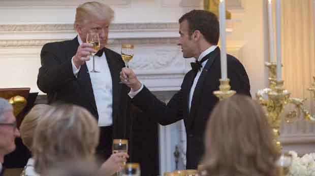 Macron apoya ahora las intenciones de Trump para renegociar el acuerdo con Irán