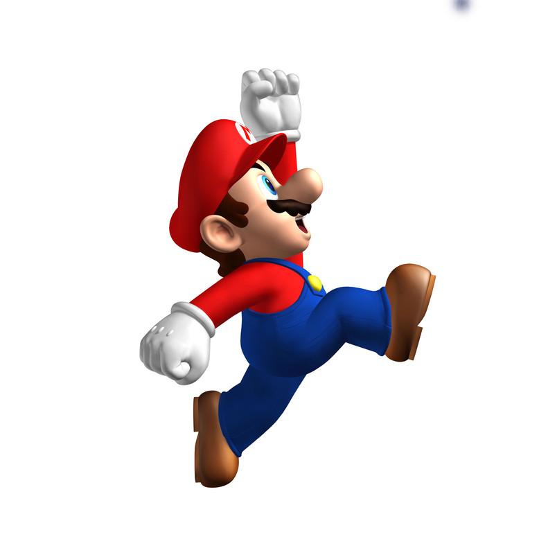 El icónico personaje de Nintendo -y ya exfontanero- Mario.