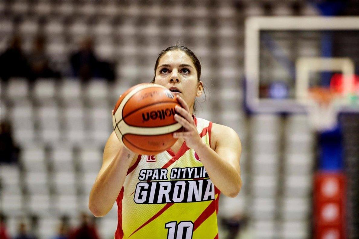 Marta Xargay, en un partido de esta temporada