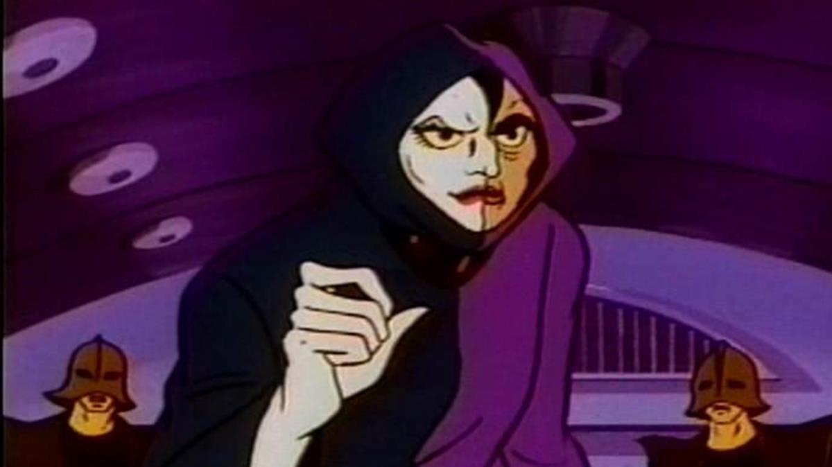 El barón Ashler, en una imagen de Mazinger Z.