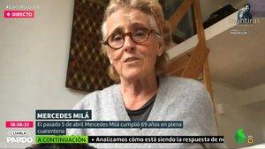 """Mercedes Milá, en 'Liarla Pardo': """"Almeida es democráta y Ayuso la community manager de un perro"""""""