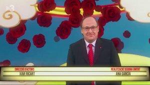 Miquel Iceta, protagonista de 'Dragon Ball' en la nueva parodia de 'Polònia'.