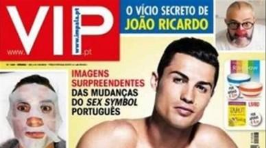 Cristiano Ronaldo se hincha de bótox
