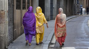 Mujeres musulmanas en una imagen de archivo.