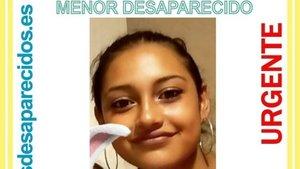 Busquen una menor de 16 anys desapareguda a Madrid