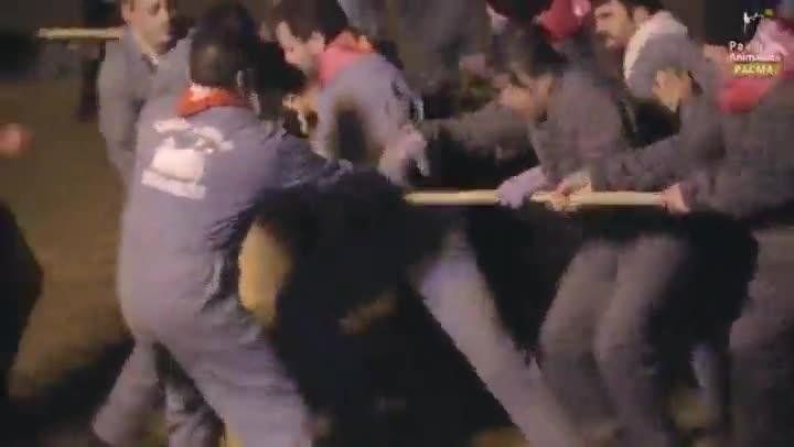 Vídeo grabado por el PACMA sobre el Toro Jubilo.
