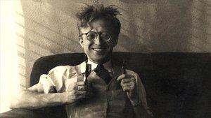 El escritor Pere Calders.
