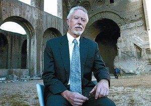 El premio Nobel surafricano J. M. Coetzee, en el Festival de Literatura de Roma, en junio del 2004.