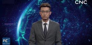 El presentador de inteligencia artificial que ha fichado la televisión china.