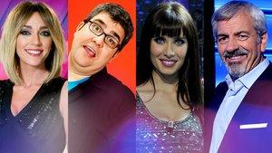 Diez presentadores que han pasado por todas las grandes cadenas de televisión