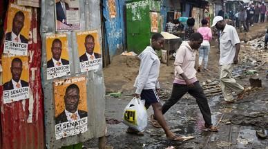 Kenia se tensa ante las urnas