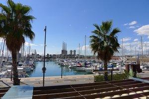 Puerto de Badalona.