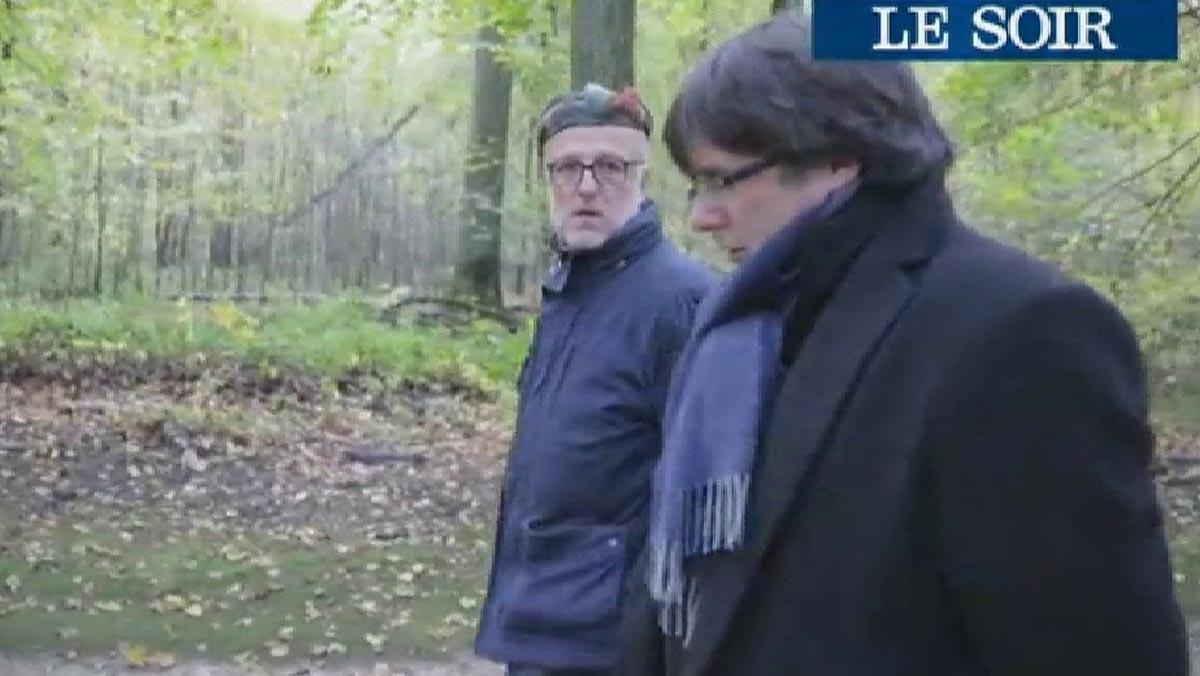 Puigdemont cambia su discurso y aseguraen una entrevista al diario belga Le Soir que es posible otra solución que no sea la independencia.