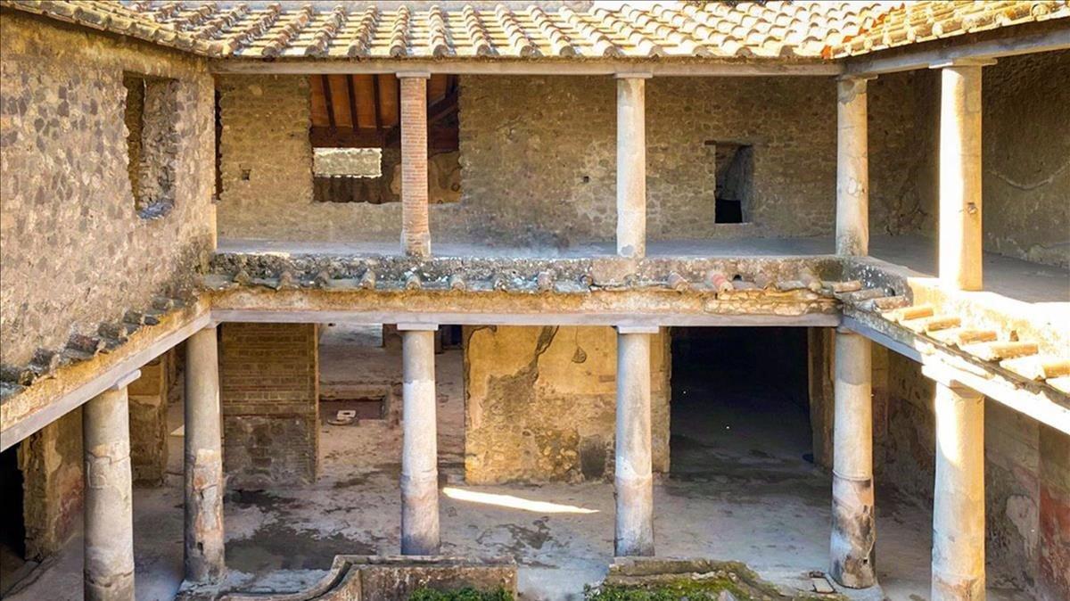 La Casa de los Amantes, restaurada.