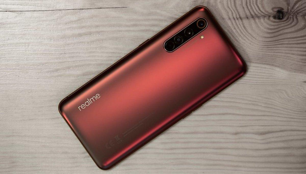Nuevo móvil de Realme compatible con 5G.