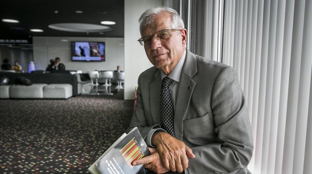 Borrell compara Junqueras amb el líder pro 'brexit' Nigel Farage