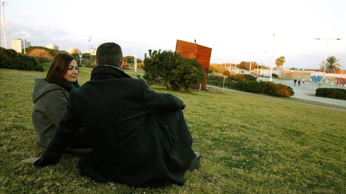 Lugar de Barcelona donde la familia solía ir a ver los fuegos artificiales con Sergi