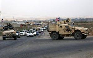 Tropas del Ejército de los EEUU en Siria.