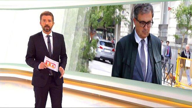 El Telenotícies vespre de TV-3 informó del ingreso en prisión de Jordi Pujol Ferrusola.