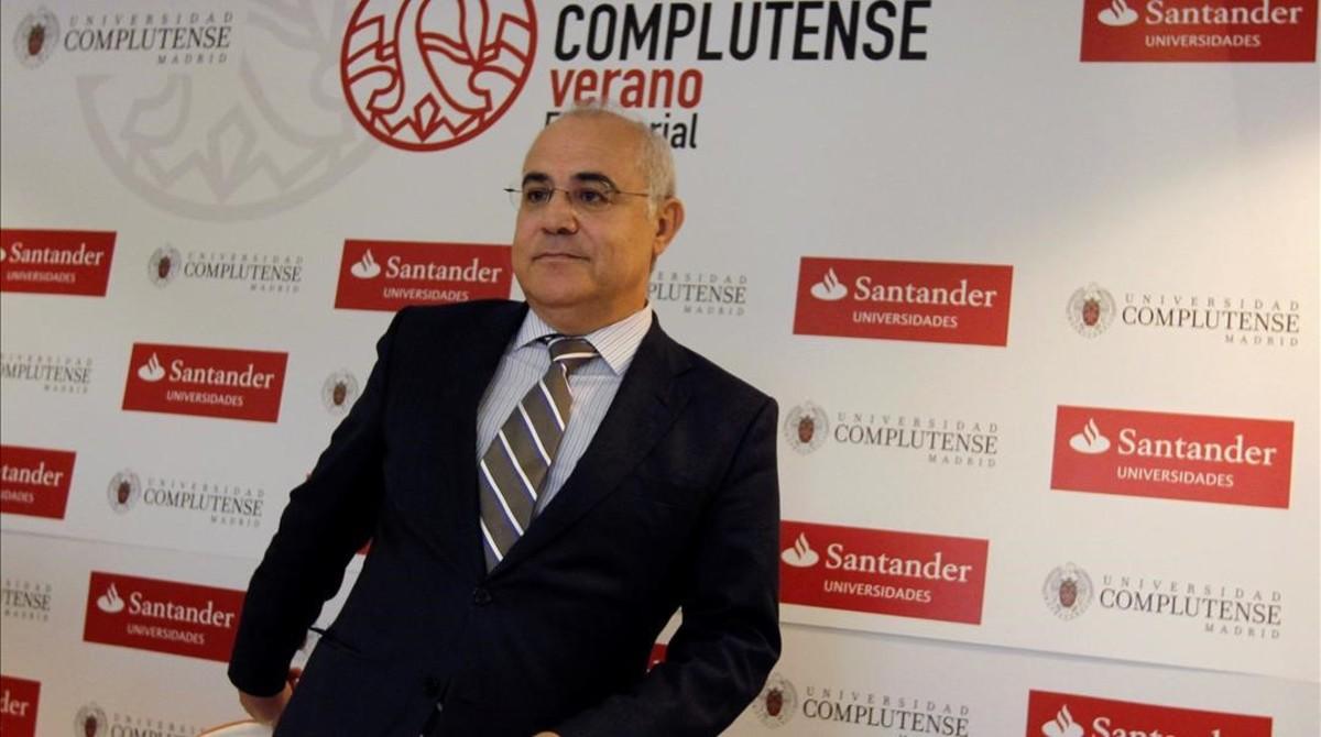 El juez Pablo Llarena, el pasado 25 de julio, en San Lorenzo del Escorial (Madrid).