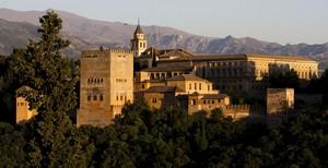 Vista panoràmica de l'Alhambra de Granada.