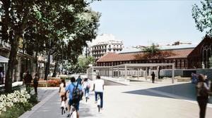 Barcelona amplia la seva estratègia de superilles al barri de Sant Antoni