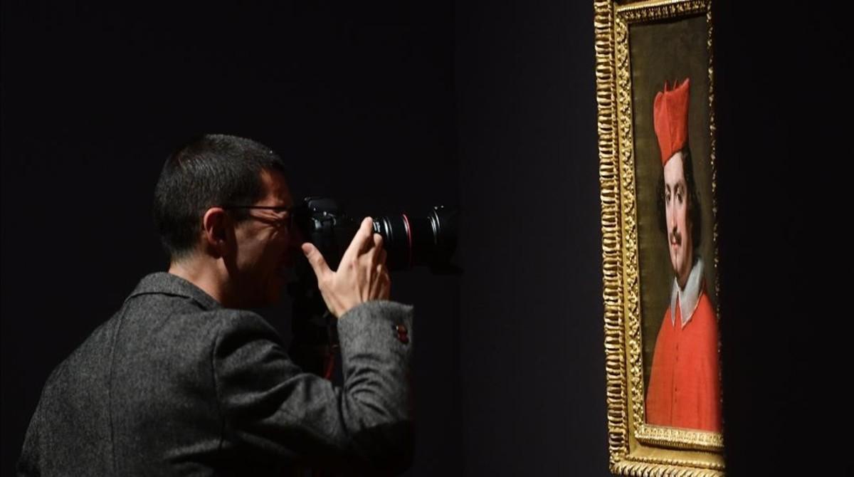 Camillo Astalli o El cardenal Pamphili (1650-1651), un óleo de la época italiana de Velázquez.
