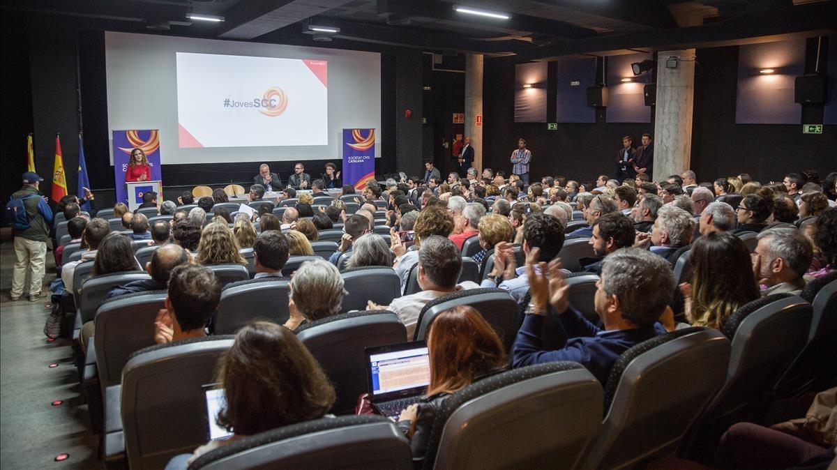 Societat Civil Catalana se manifestará en Washington y Bruselas los próximos 5 y 6 de diciembre en favor de la Constitución. Enla capital belga estará un día antes que Òmnium y la ANC lo hagan en favor de la independencia de Catalunya.