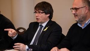 Puigdemont viatja a Ginebra diumenge per participar en un debat sobre la independència