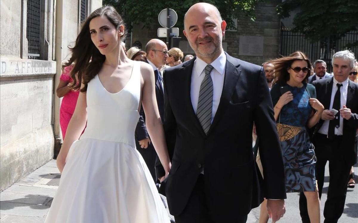 Pierre Moscovici: padre primerizo a los 61