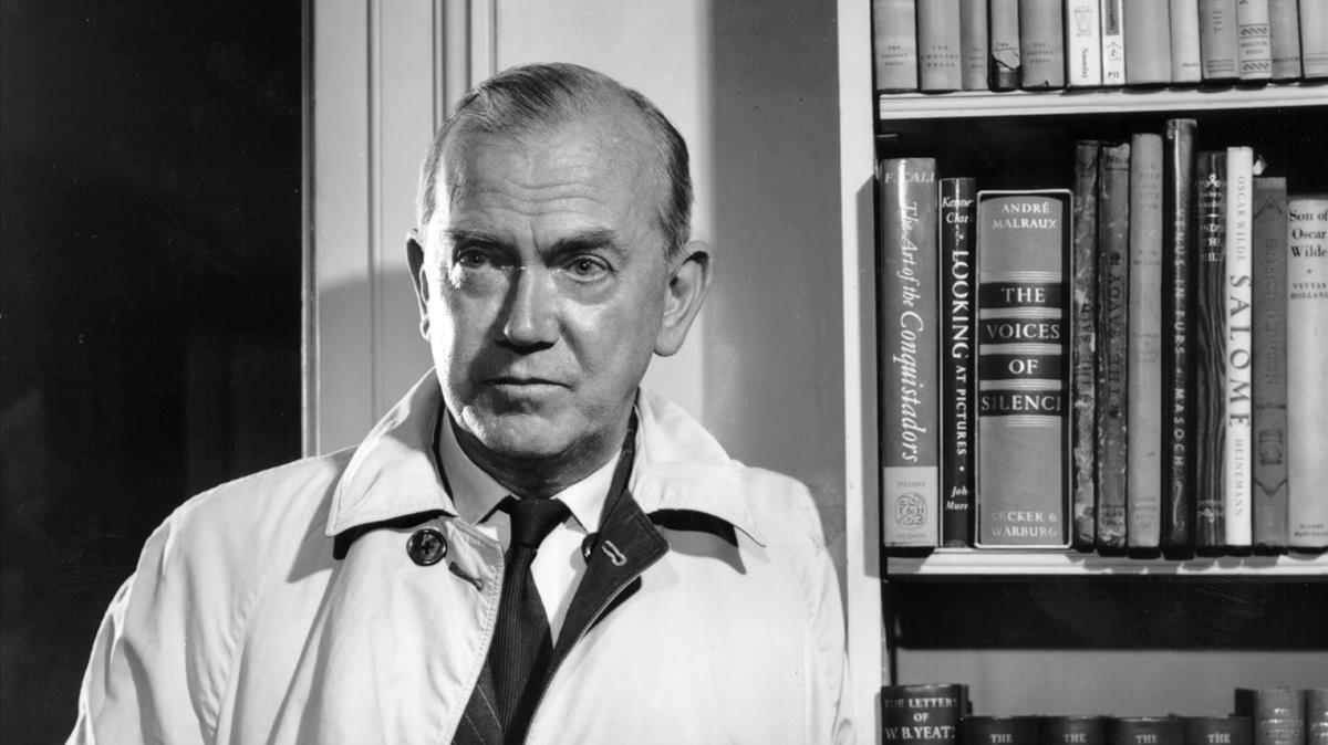 El escritor Graham Greene.