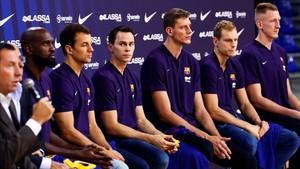 """El Barça Lassa reuneix els seus sis fitxatges com a objectiu de """"guanyar-ho tot"""""""
