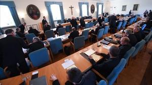 Asamblea de los obispos alemanes, el pasado 24 de septiembre.