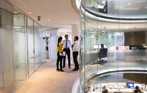 Oficinas en Madrid del bufete Cuatrecasas, una de las firmas líderes en innovación en el sector jurídico.
