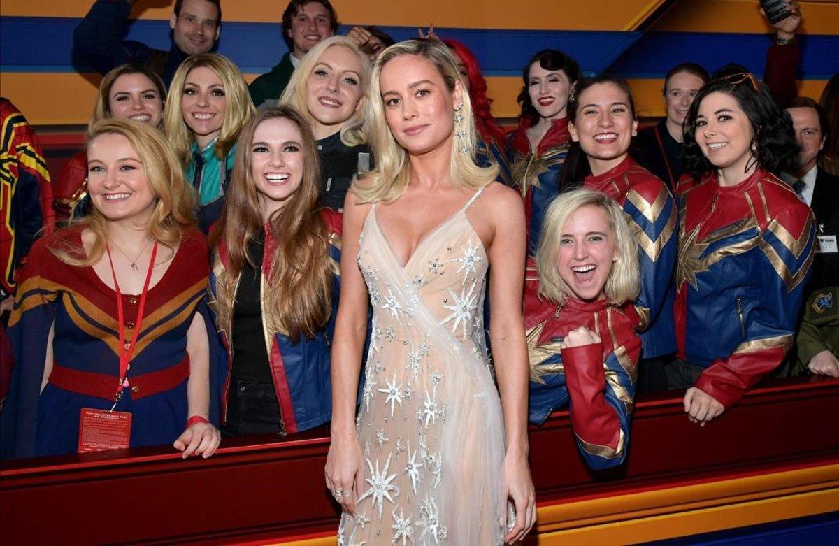 Brie Larson tiene superpoderes
