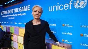 La directora adjunta de Unicef Charlotte Petri Gornitzka.