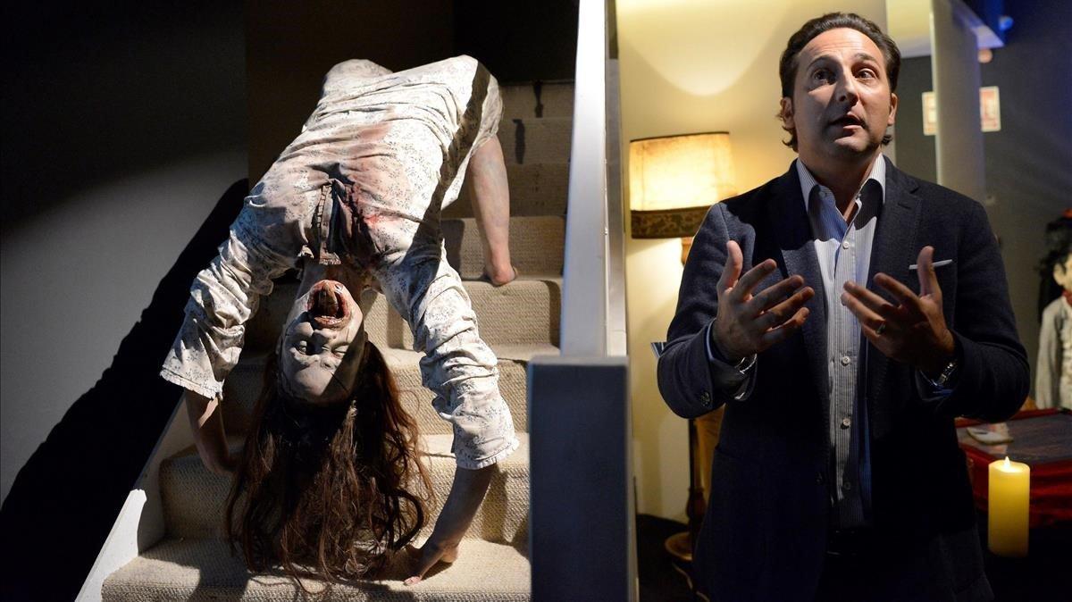 Iker Jiménez abre una exposición sobre el terror