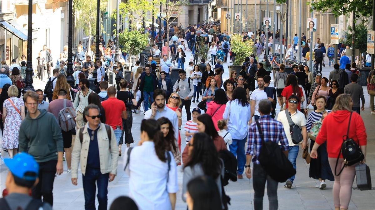 El mapa de la renda per persona a Barcelona, carrer a carrer