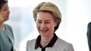 Ursula von der Leyen, la nueva presidenta de la Comisión Europea.