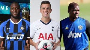 Lukaku, al Inter.Lo Celso, del Betis al Tottenham. Pogba sigue en el United.