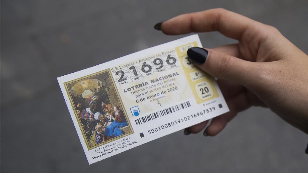 Cada català gastarà una mitjana de 13,04 euros en dècims del Sorteig d''El Nen'