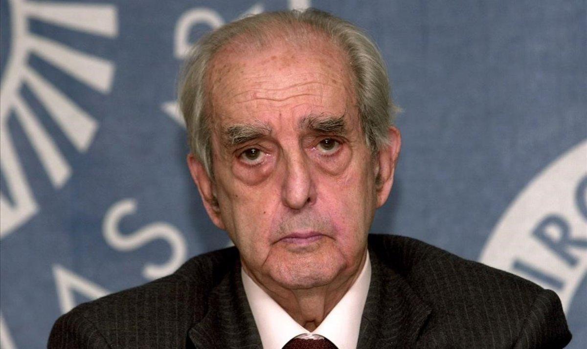 Mor Fernando Morán, el ministre d'Exteriors que va firmar l'entrada d'Espanya a Europa