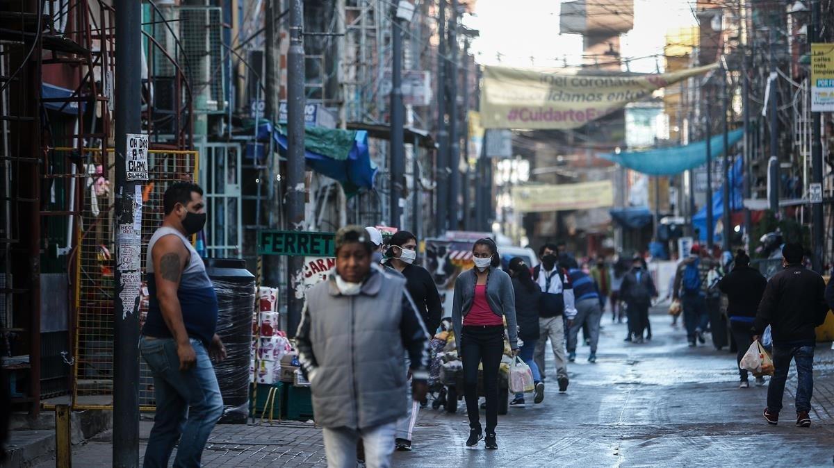 Las barriadas populares de la ciudad de Buenos Aires se han convertido en las zonas más expuestas al covid-19