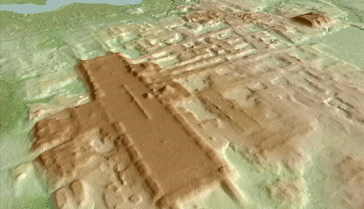 Descobert el monument maia més antic i gran