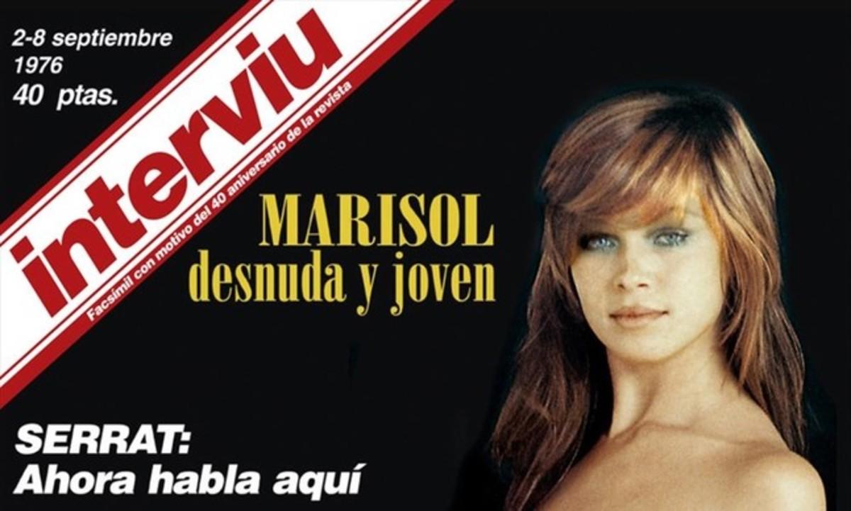 Facebook veta la portada d''Interviú' de Marisol 41 anys després
