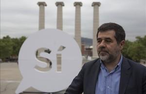 El expresidente de la Assemblea Nacional Catalana (ANC) Jordi Sànchez, el pasado abril.