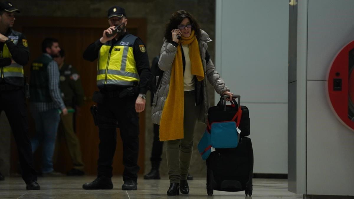 L'avió d'Air Canada aterra sense incidents a Madrid Barajas | DIRECTE