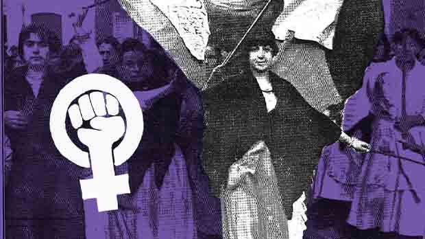 El 1918, milers de dones es van declarar en vaga a Barcelona, Màlaga i València.