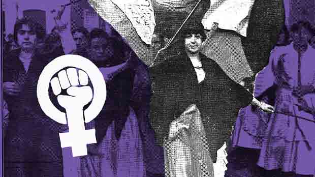 En 1918, miles de mujeres se declararon en huelga en Barcelona, Málaga y Valencia.